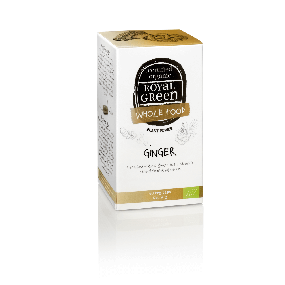 ROYAL GREEN Bio Zázvor 60 kapslí