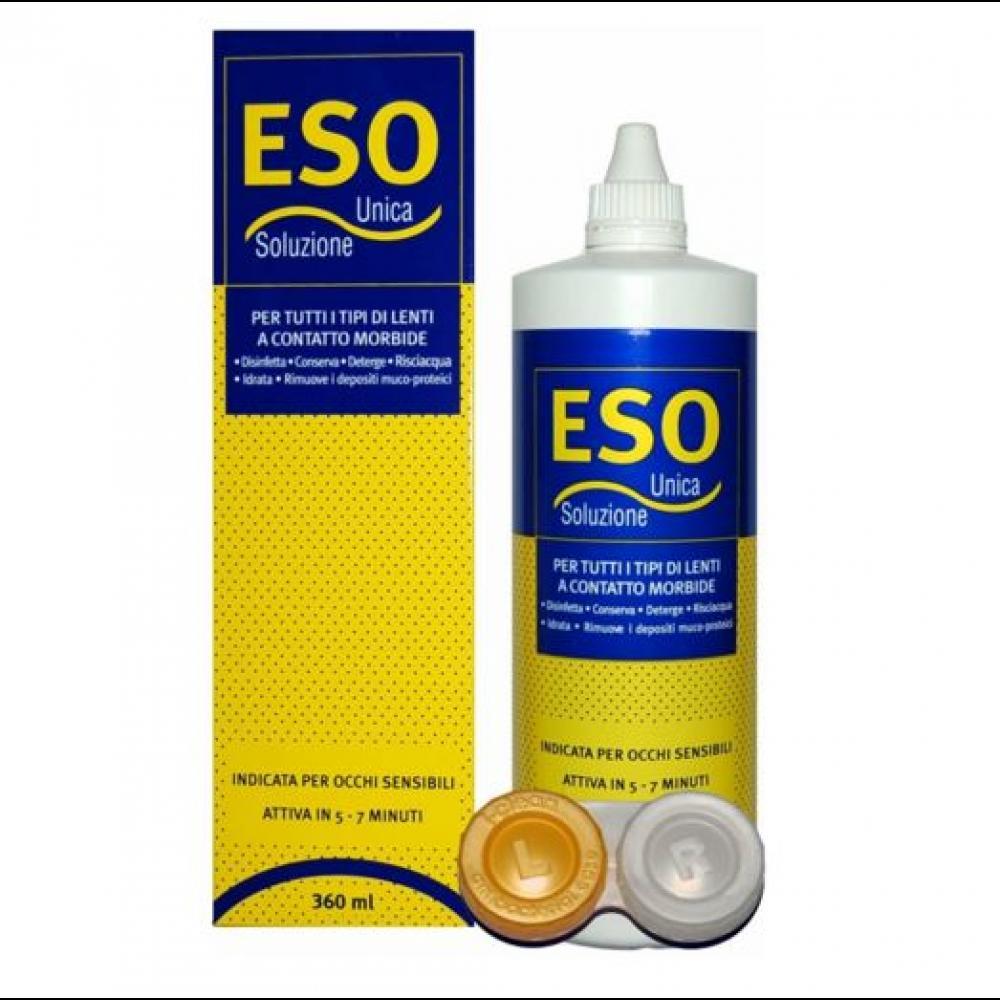 Roztok Eso Unica 500 ml na kontaktní čočky