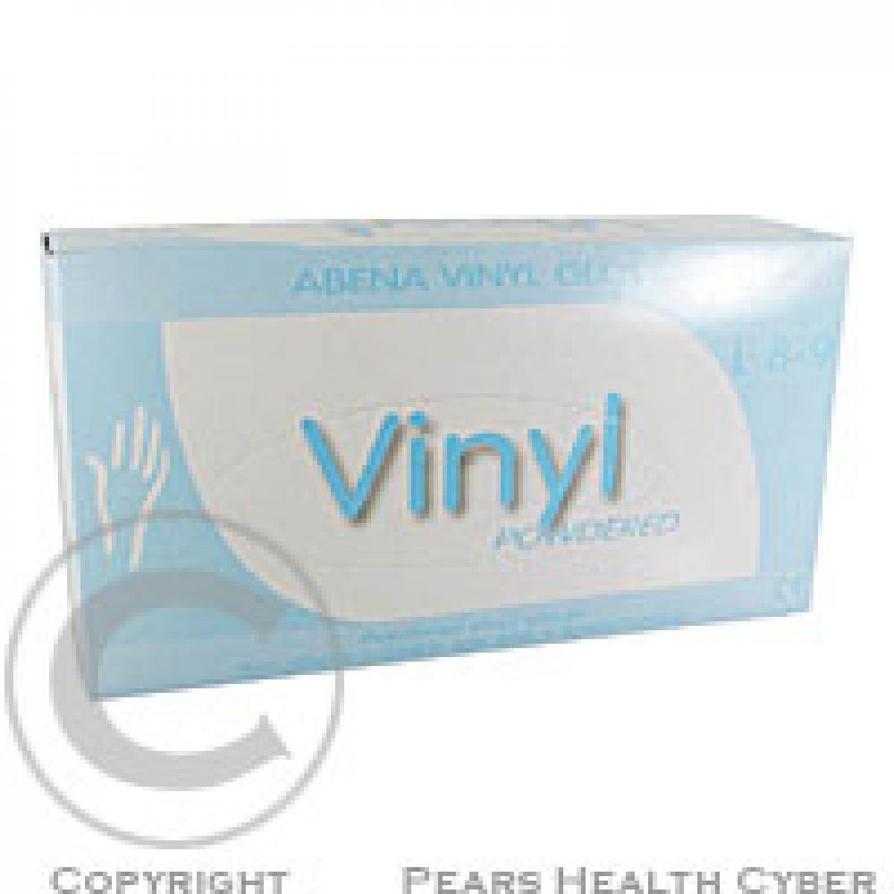 Rukavice Abri vinyl L 4392 100 ks vyšetřovací