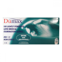Rukavice DUMAX latex.nest.XL 100ks pudr