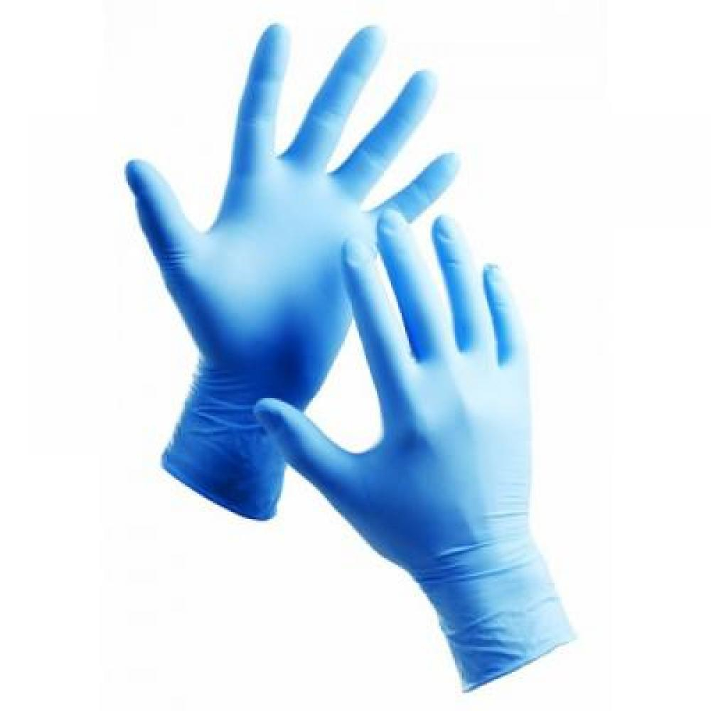 MAXTER U-R bezprašné nitrilové rukavice velikosti S 100 ks