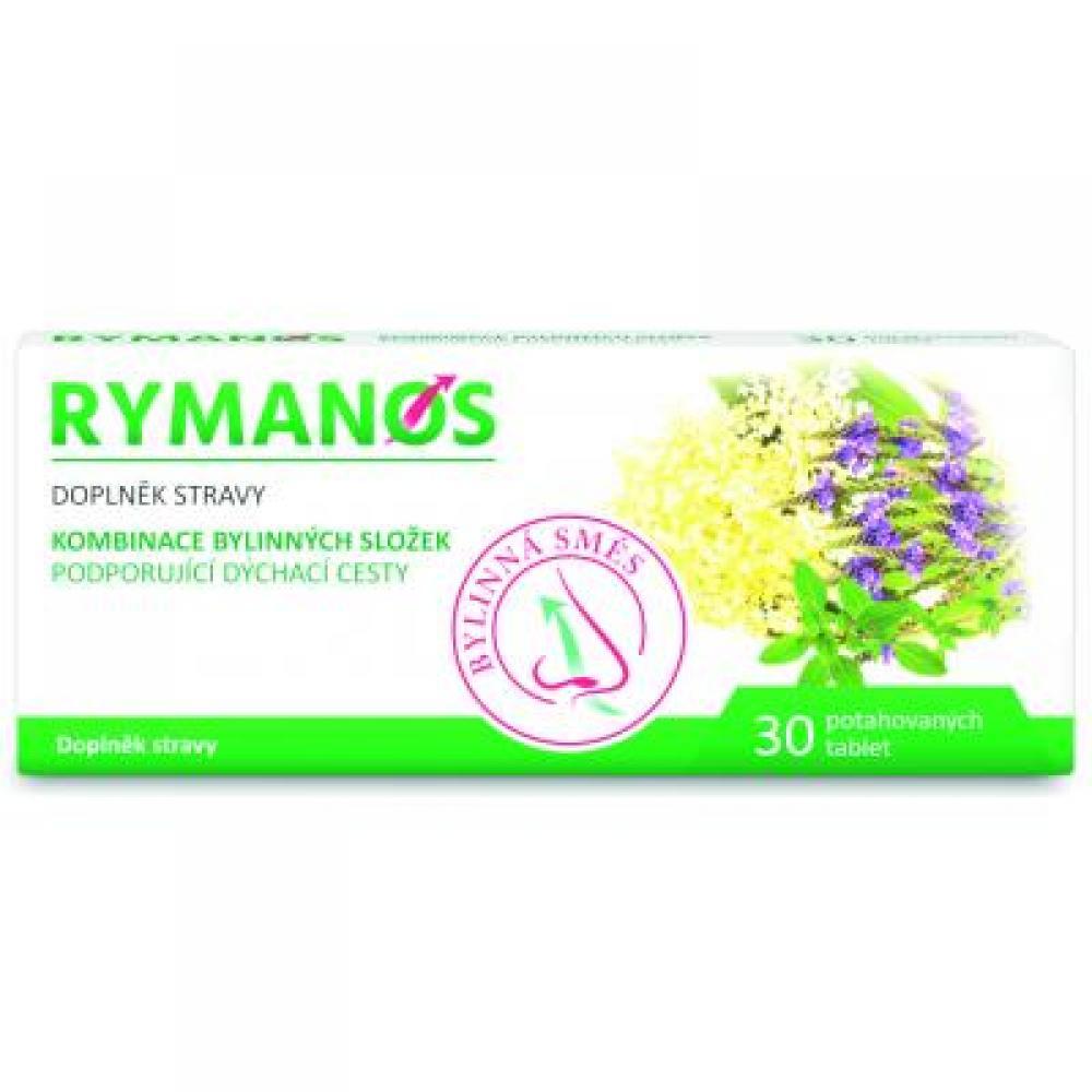 RYMANOS na podporu dýchacích cest 30 tablet