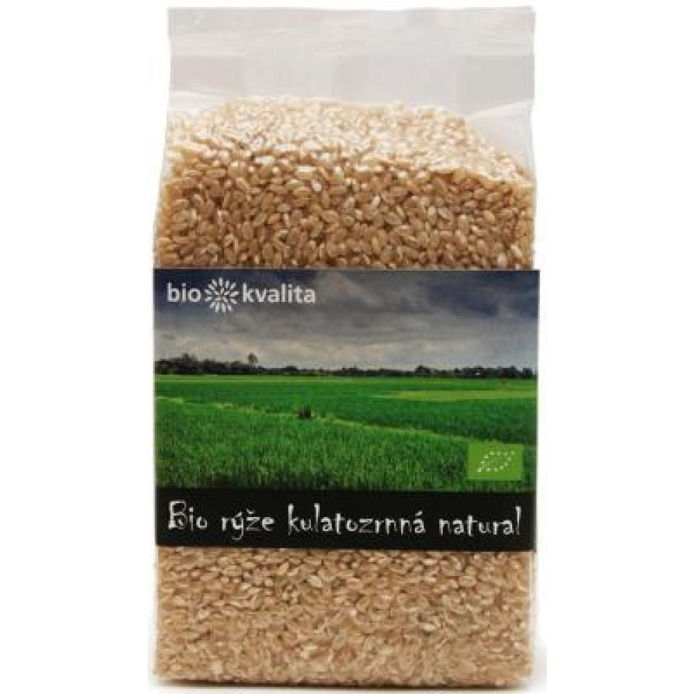 Rýže kulatozrnná natural 500g-BIO