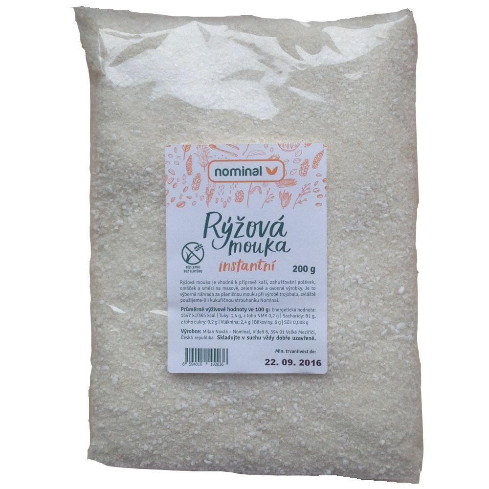 Rýžová instantní mouka 200 g