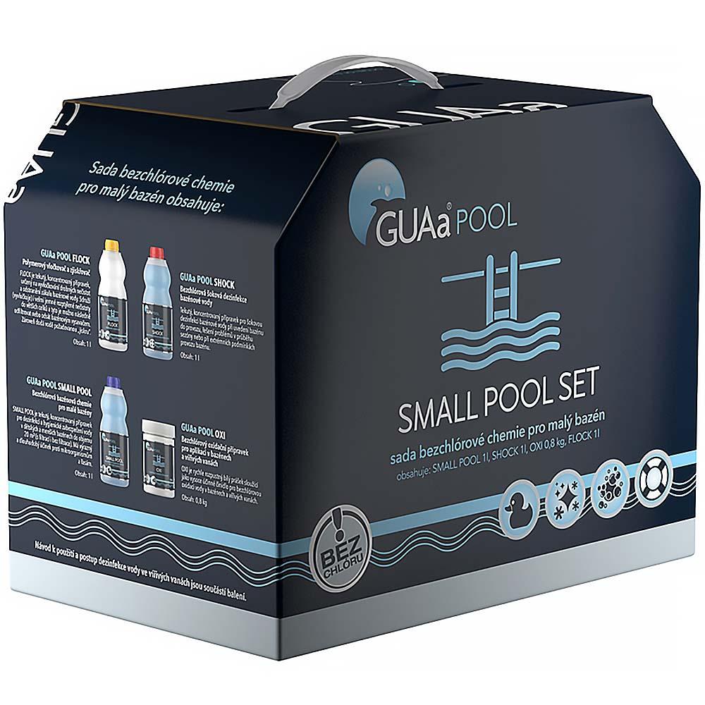 Guapex Sada bazénové chemie bez chlóru pro malé bazény