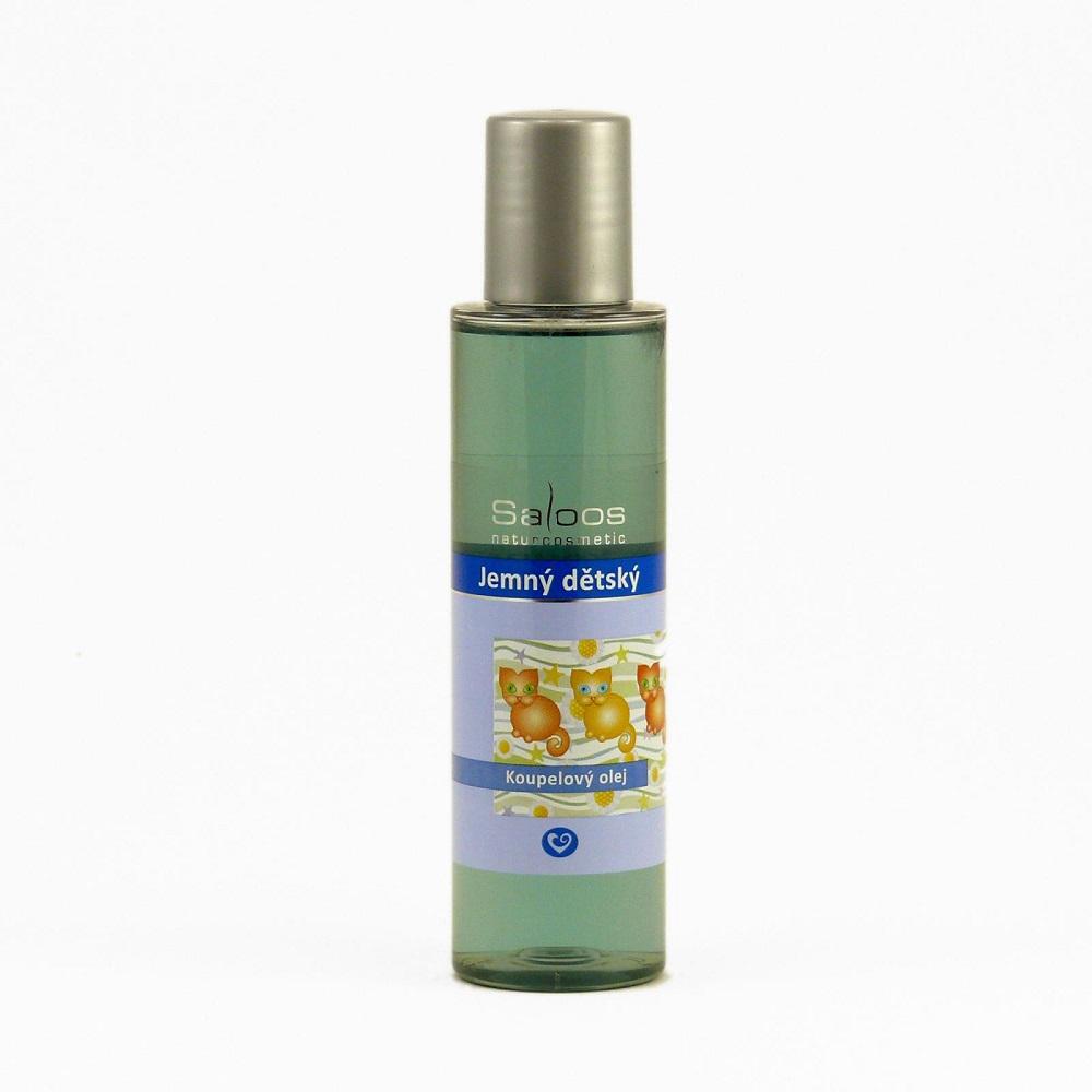 SALOOS Koupelový olej Jemný dětský 125 ml