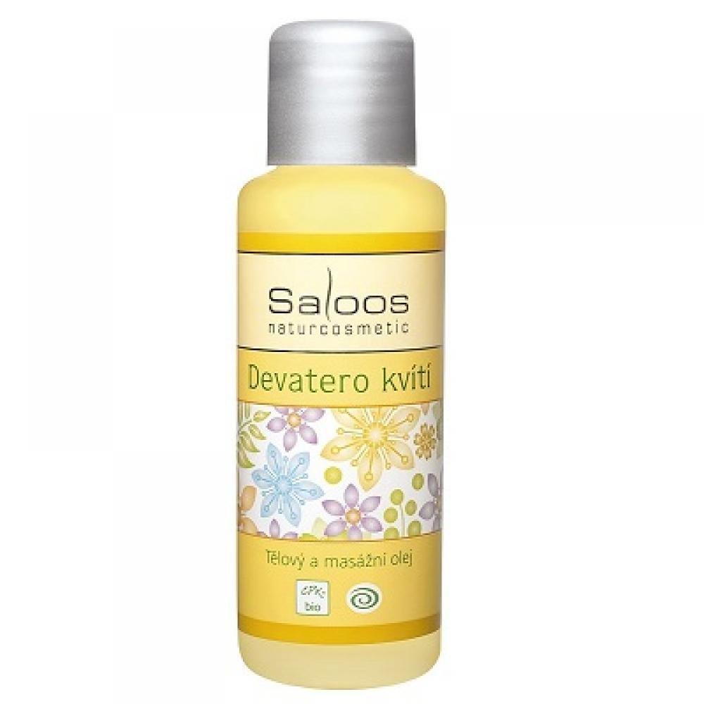 SALOOS Bio tělový a masážní olej Devatero kvítí 50 ml