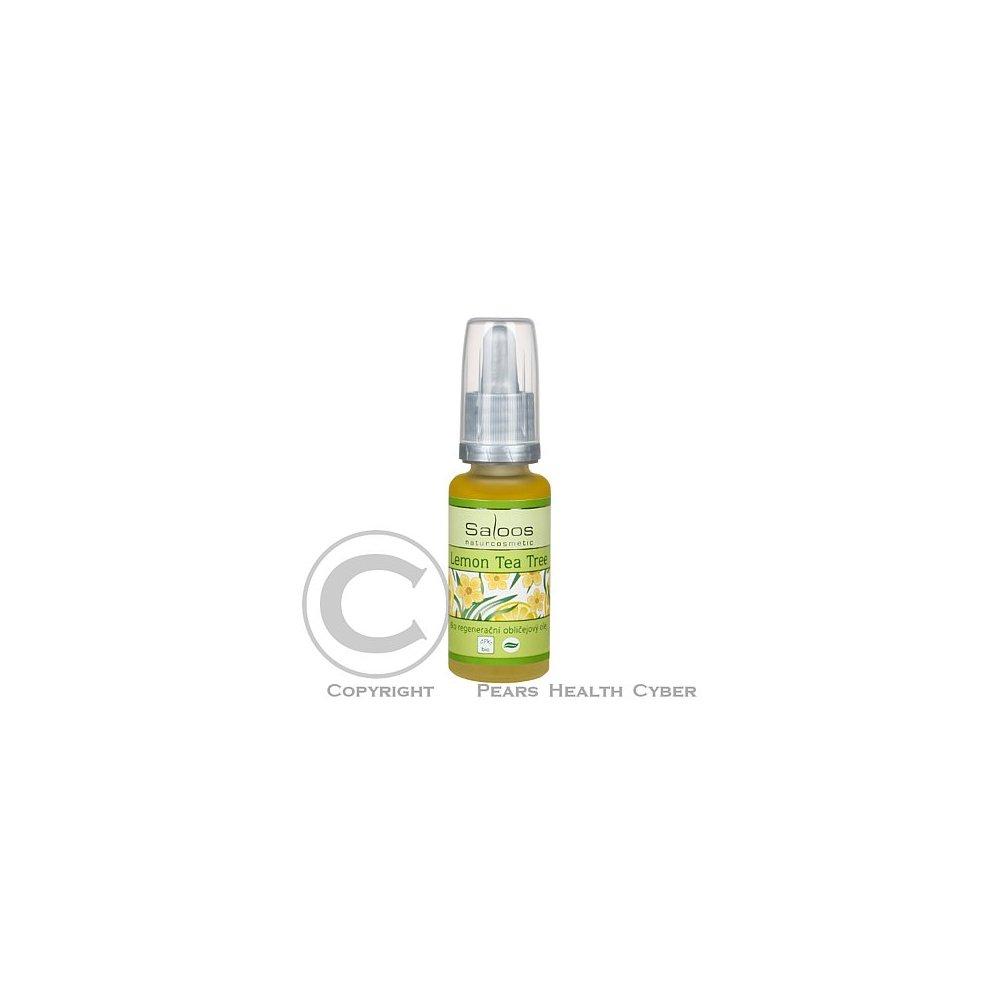 SALOOS Regenerační Obličejový Olej Lemon Tea Tree 20ml