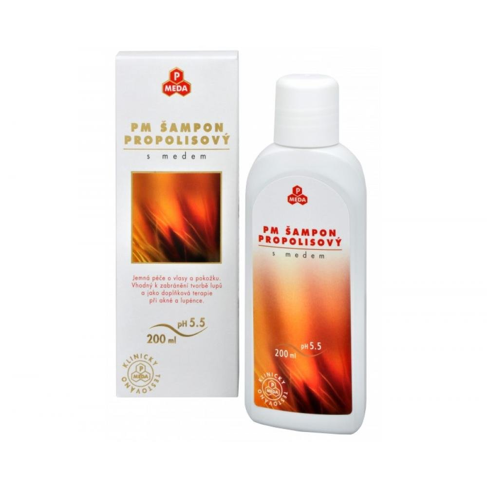 Šampon medový s propolisem 200ml