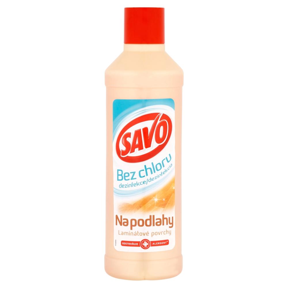 SAVO Bez Chloru Na podlahy Laminátové povrchy 1000 ml