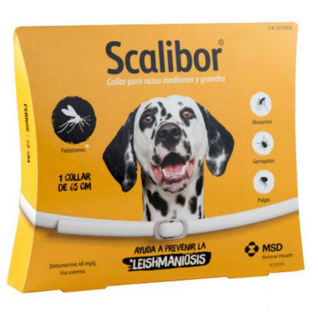 Scalibor antiparazitní obojek pro velké psy 65 cm a.u.v.