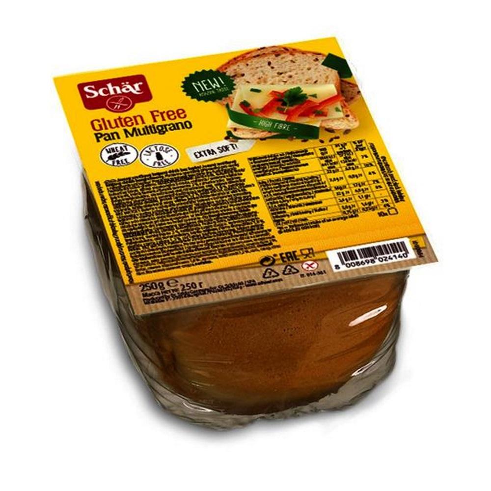 SCHÄR Pan Multigrano Bílý chléb speciální se zrníčky bez lepku 250 g