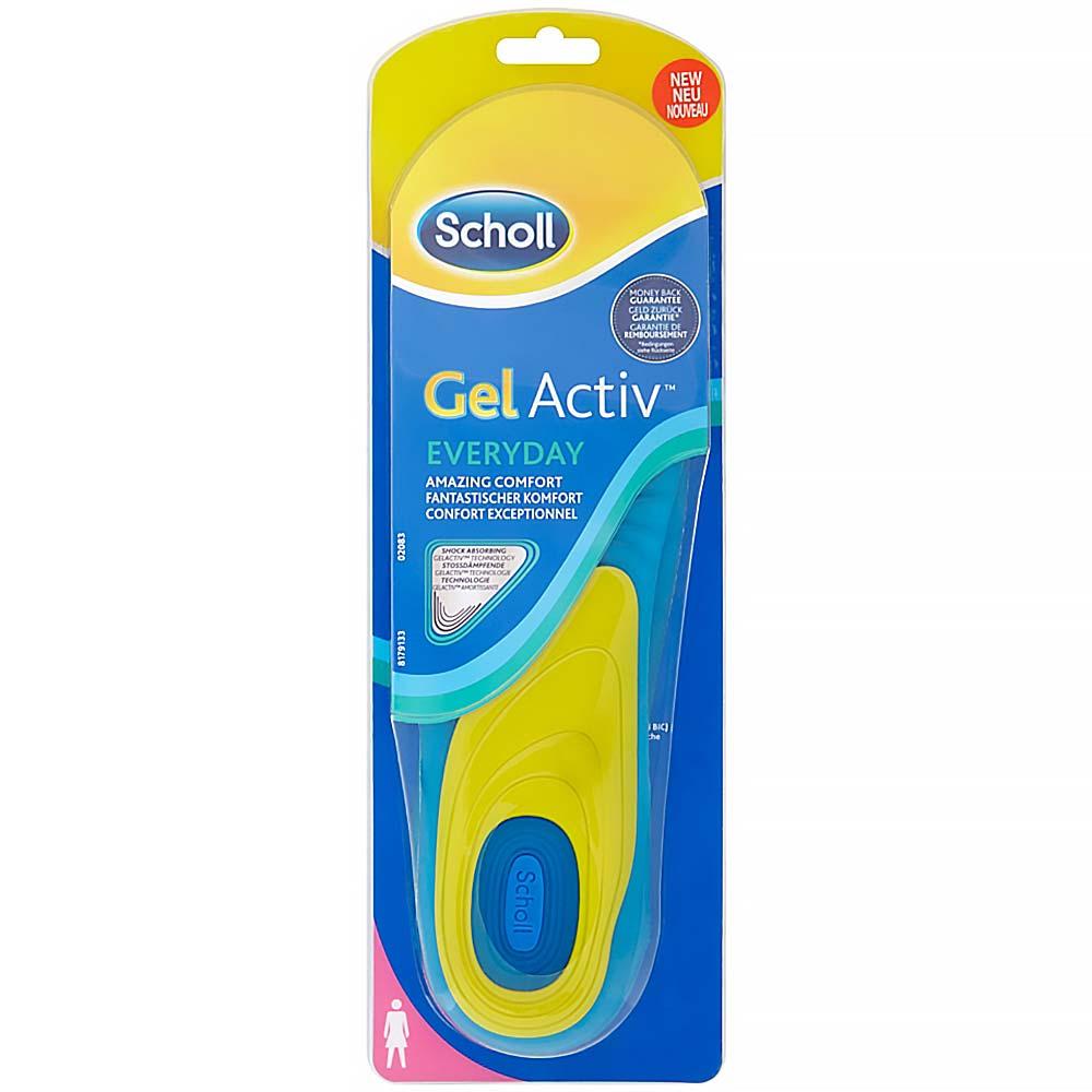 SCHOLL gelové vložky do bot pro ženy EVERYDAY