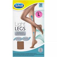 a24355fdd3a SCHOLL Light Legs Kompresní punčochové kalhoty Nude L 20 DEN