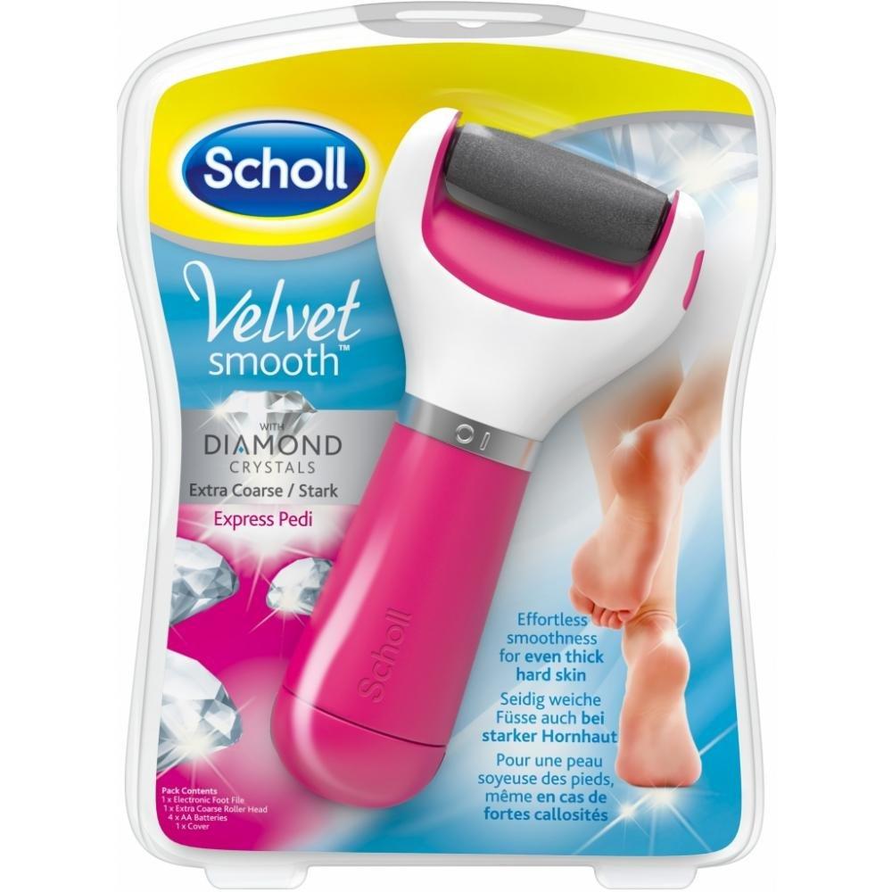 SCHOLL Velvet Smooth elektrický pilník na chodidla DIAMOND růžový