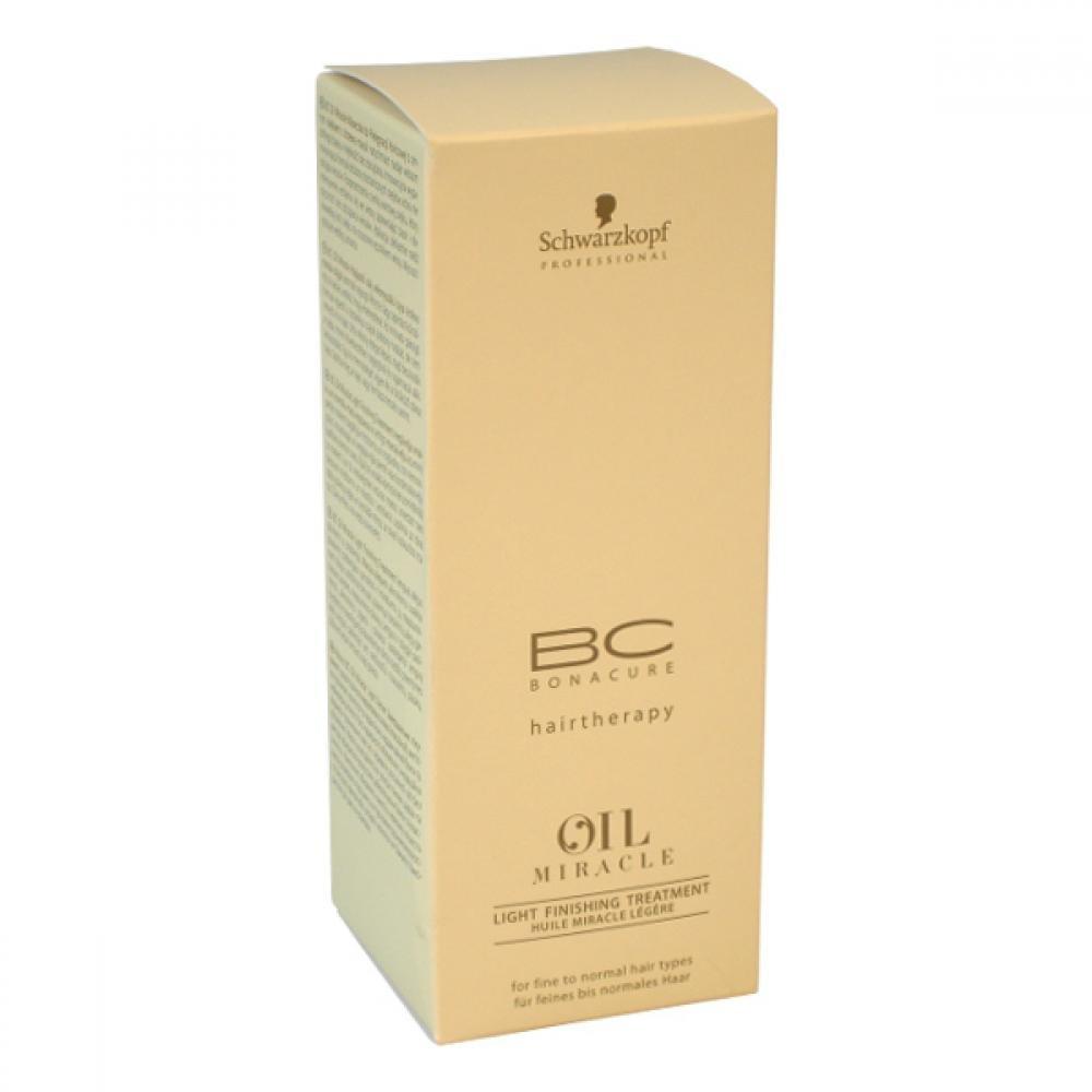 Schwarzkopf BC Bonacure Oil Miracle Light Finishing Treatment 100ml Péče pro jemné vlasy