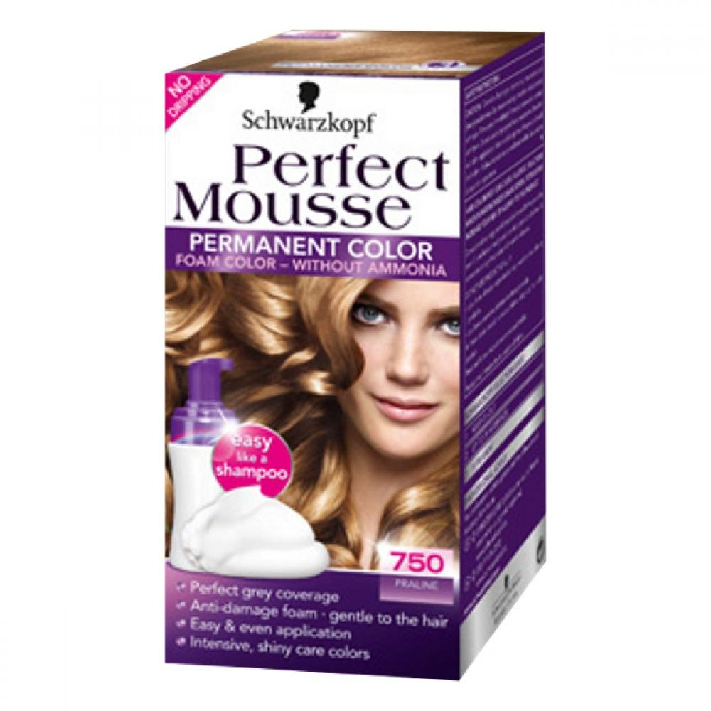 SCHWARZKOPF Perfect Mousse 750 pralinka 50ml
