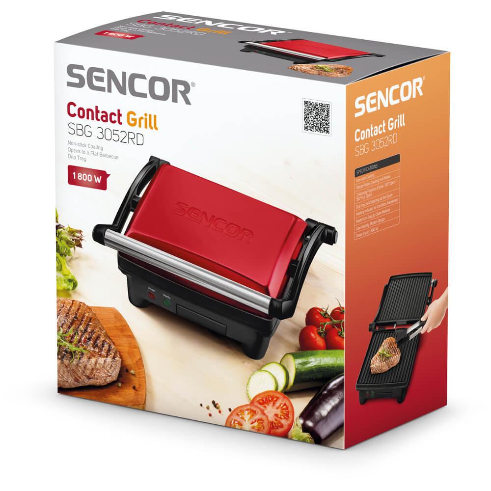 SENCOR elektrický gril SBG 3052RD