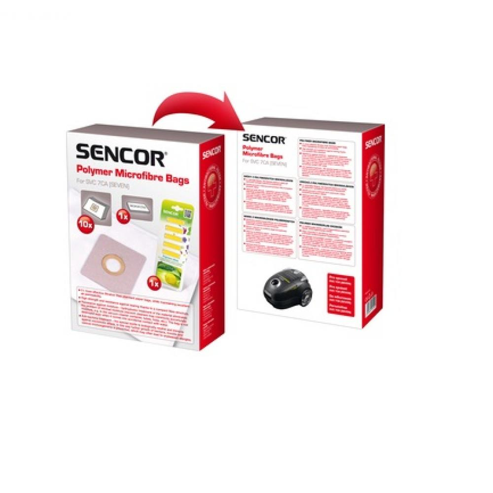 SENCOR SVC 7 Mikrovlákenné sáčky 10 kusů