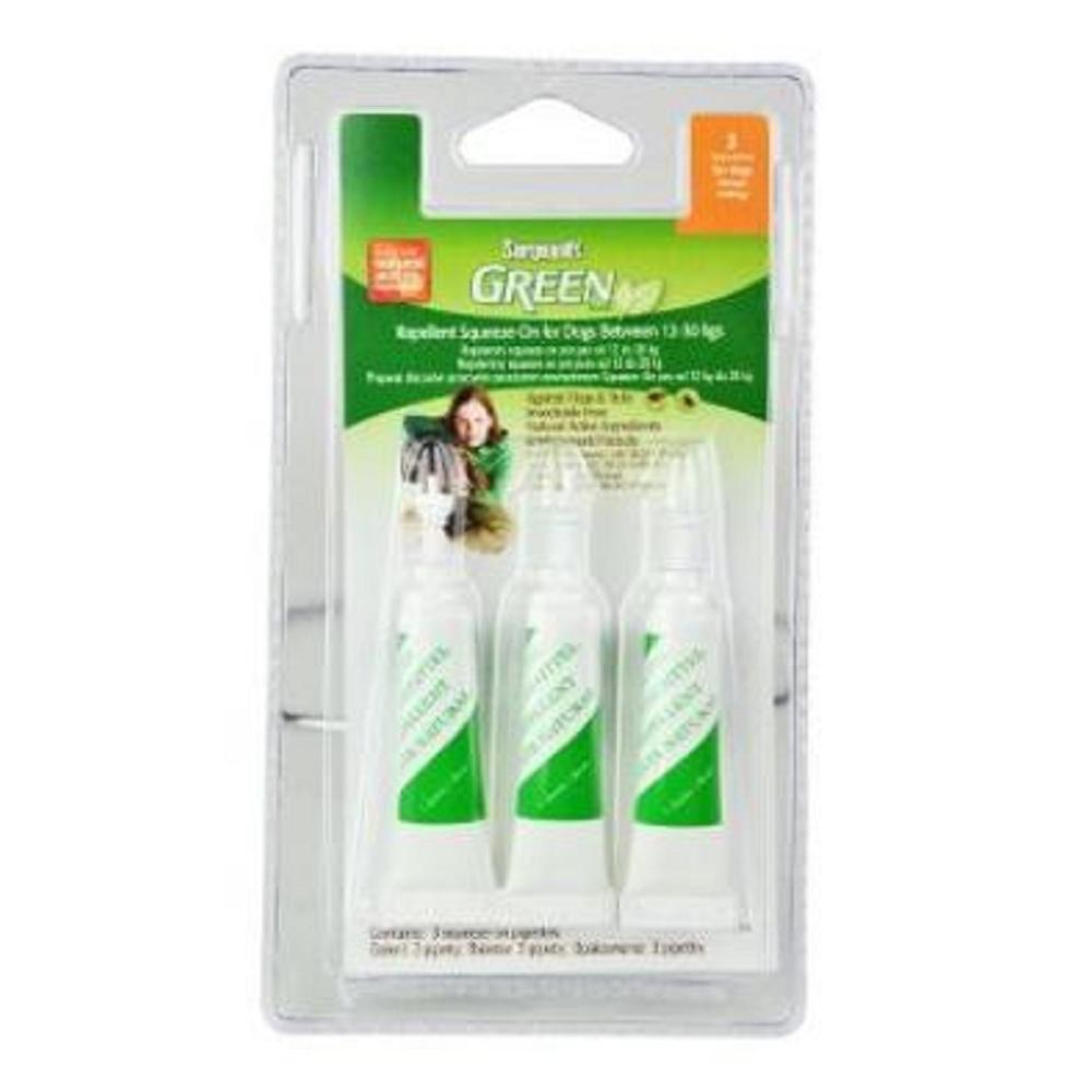 SERGEANT´S Green spot on pro psy 12-30 kg 3x3 ml