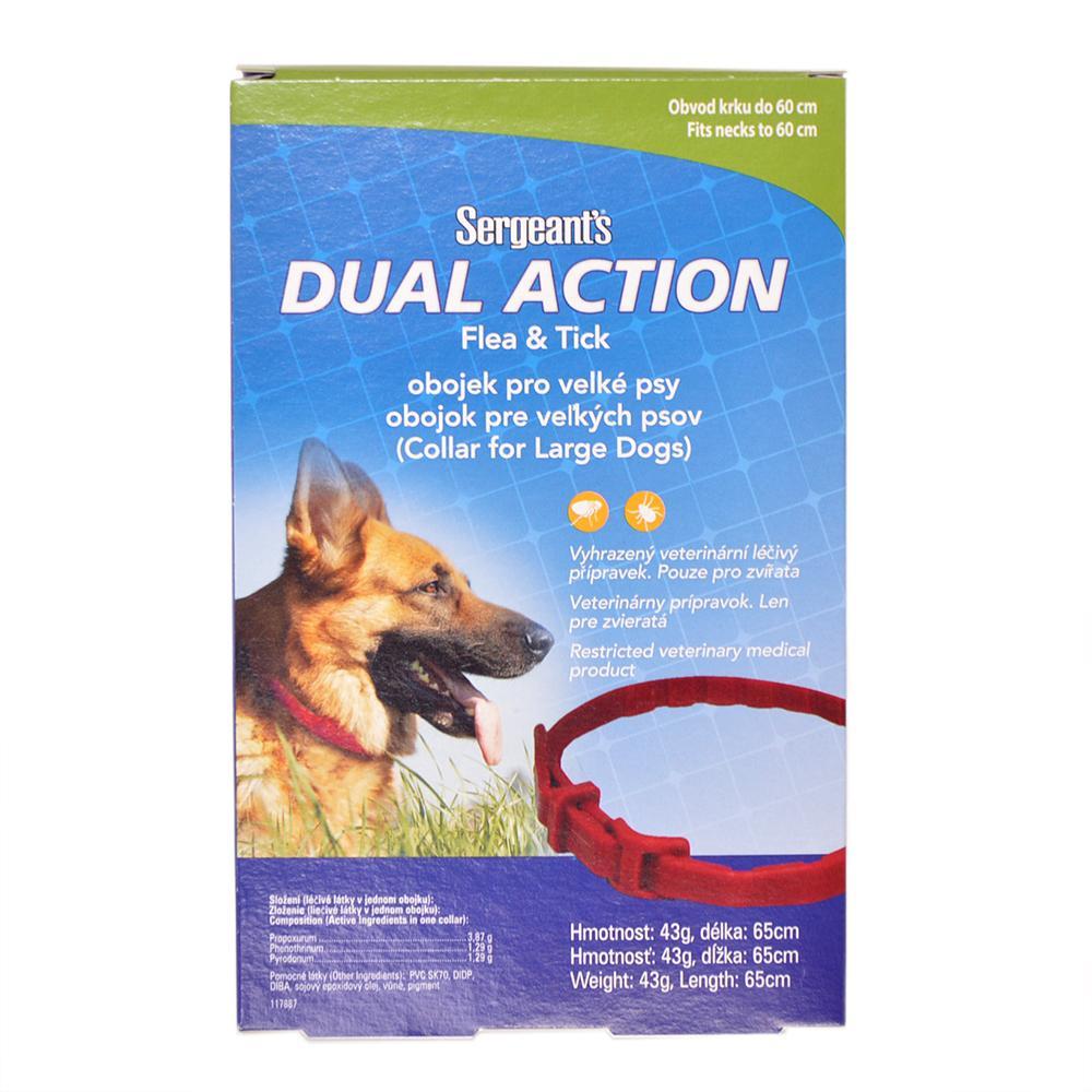 SERGEANT´S Dual Action obojek pro velké psy 65 cm