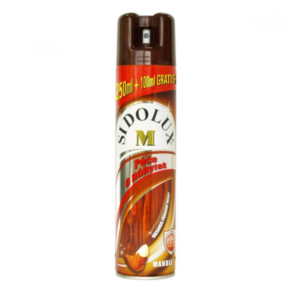 SIDOLUX m spray na nábytek mandlový, 350ml