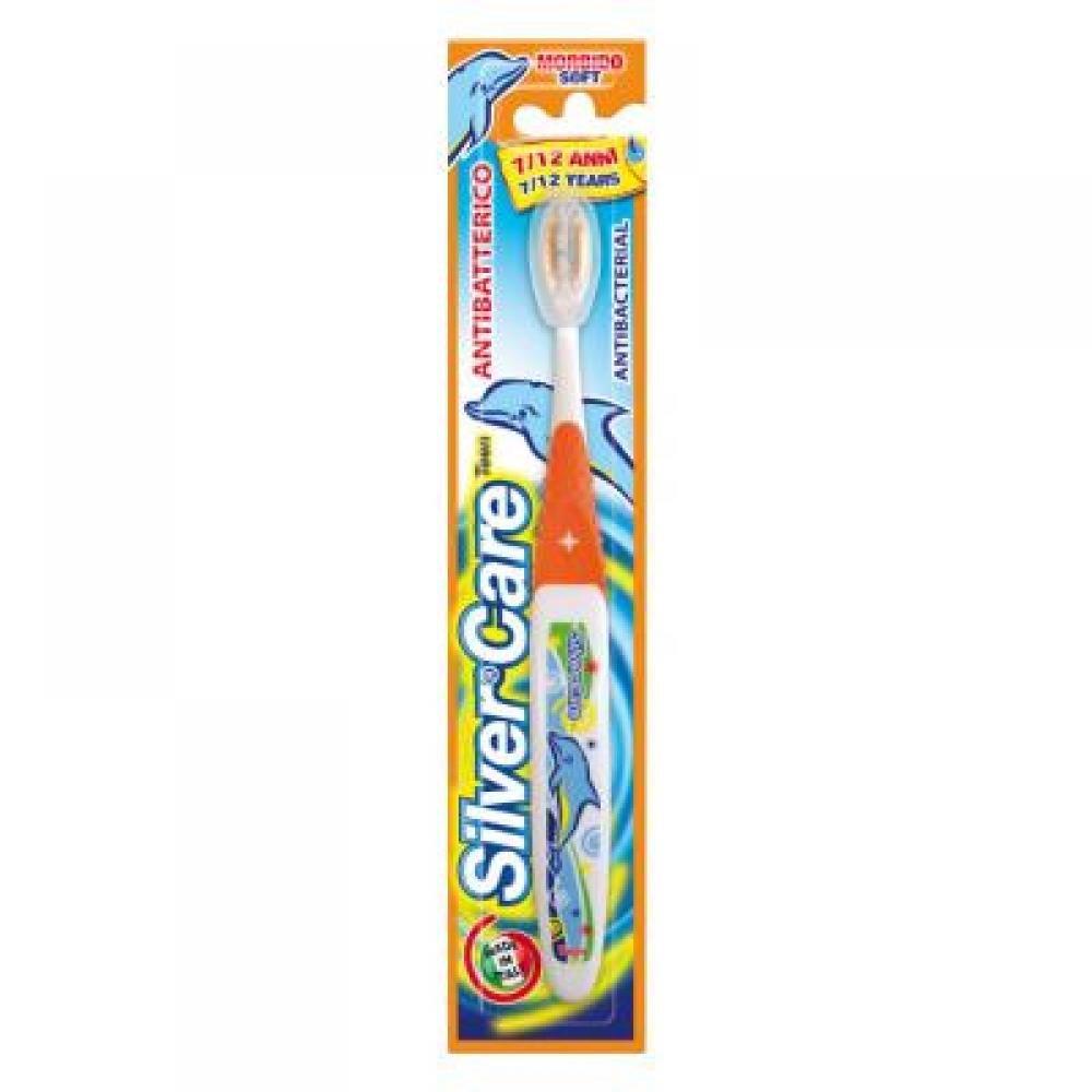 SilverCare Dětský zubní kartáček 7 - 12 let střední 1 ks