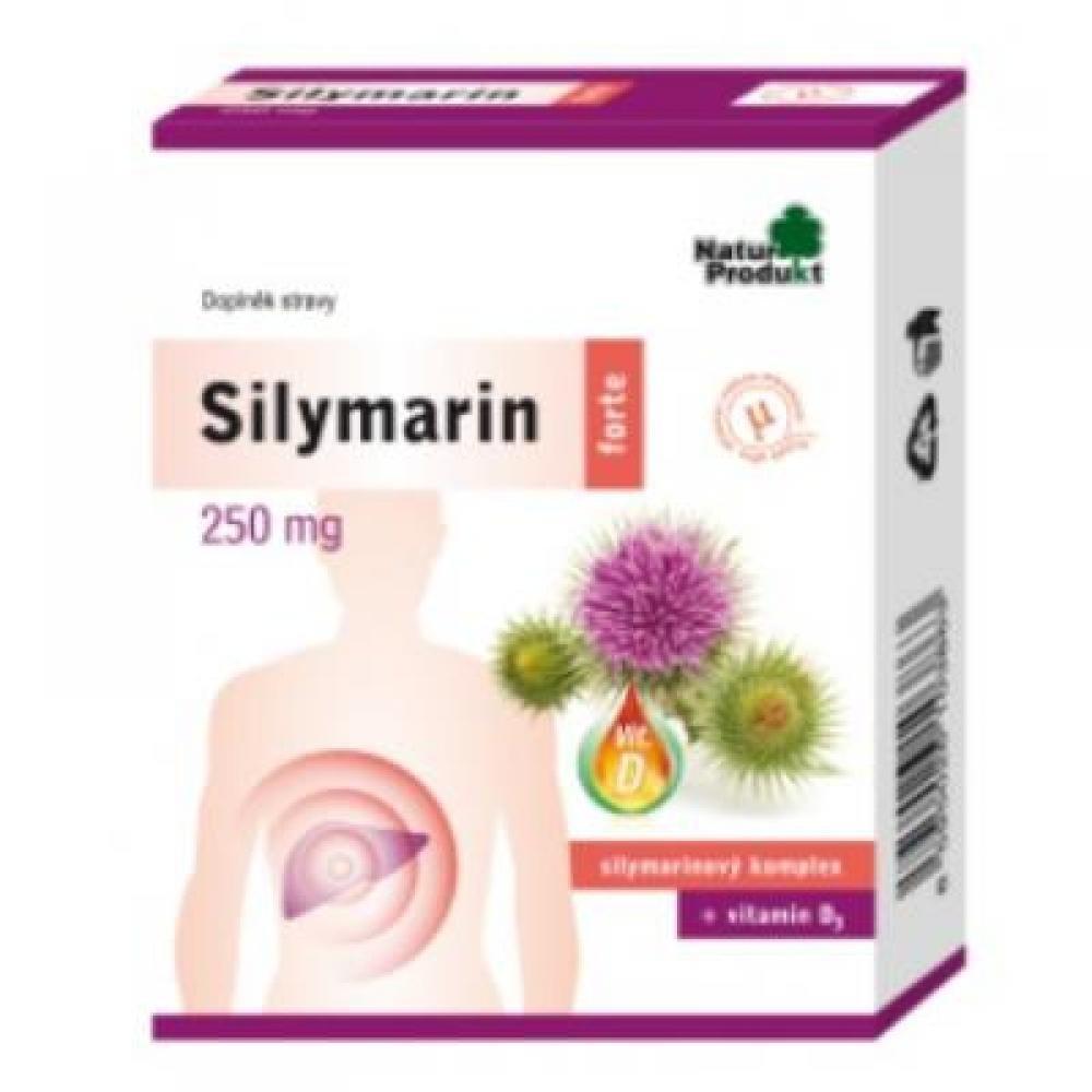 Silymarin forte 250 mg + vitamin D 40 tbl.