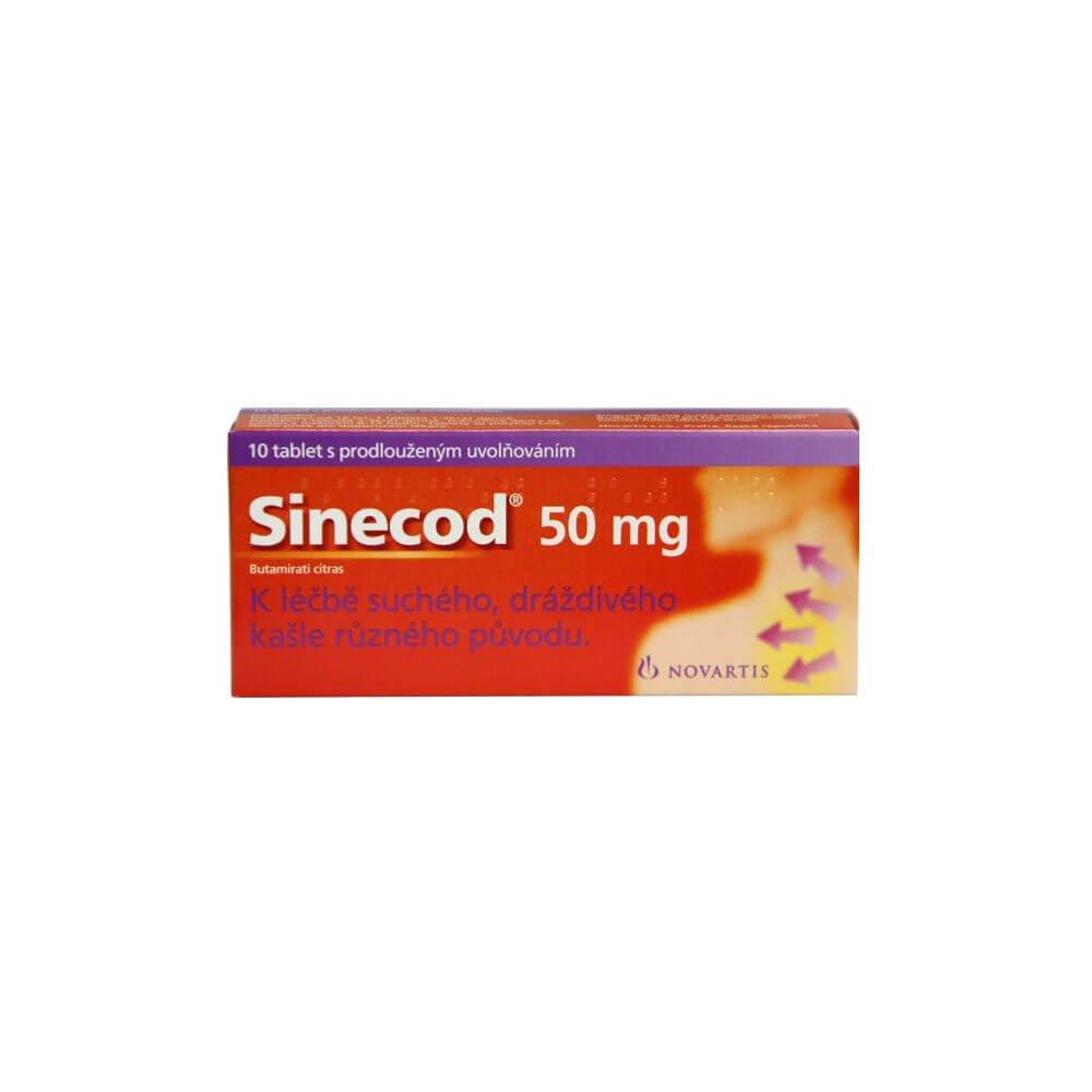 SINECOD 50mg 10 tablet s prodlouženým uvolňováním