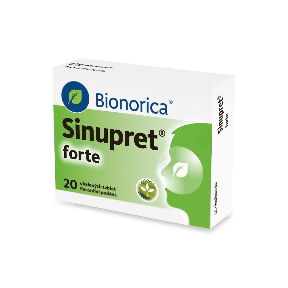 SINUPRET FORTE 20 Obalené tablety