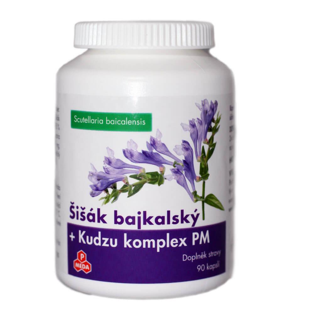 PURUS MEDA Šišák bajkalský + Kudzu komplex 90 kapslí