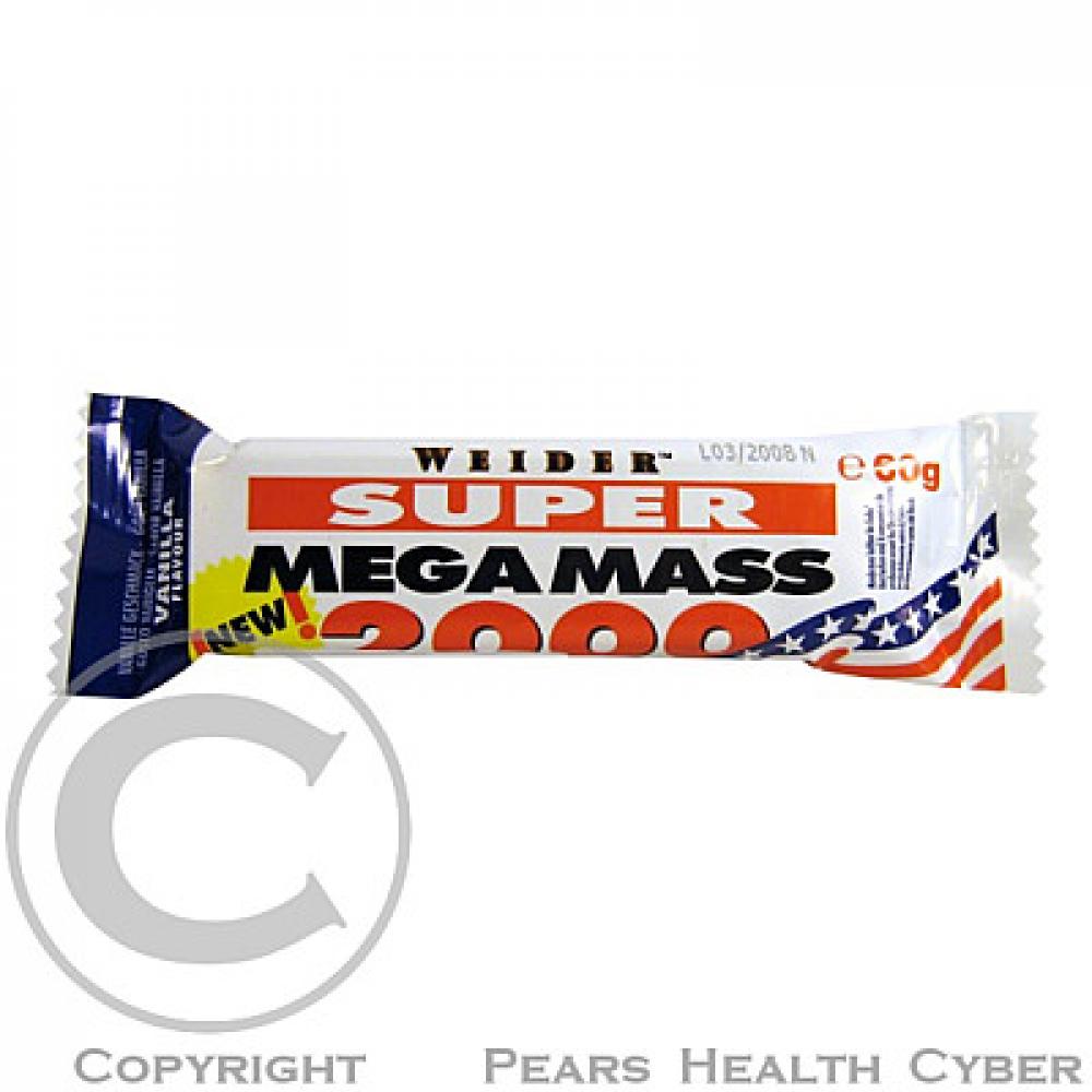 Super Mega Mass 2000 bar 60 g vanilka