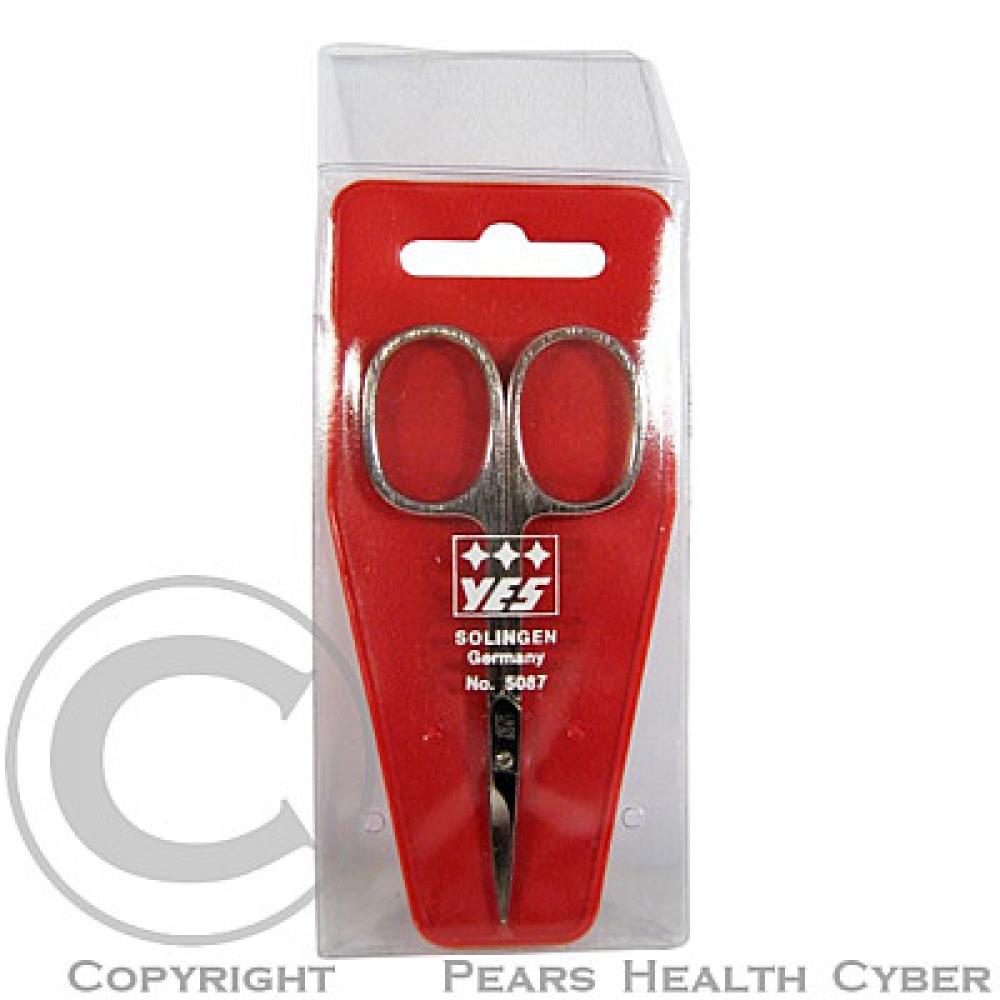 SOLINGEN nůžky na kůži 9 cm zahlé PL 420