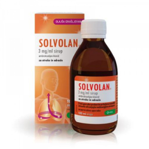 SOLVOLAN Sirup 100ml/300mg