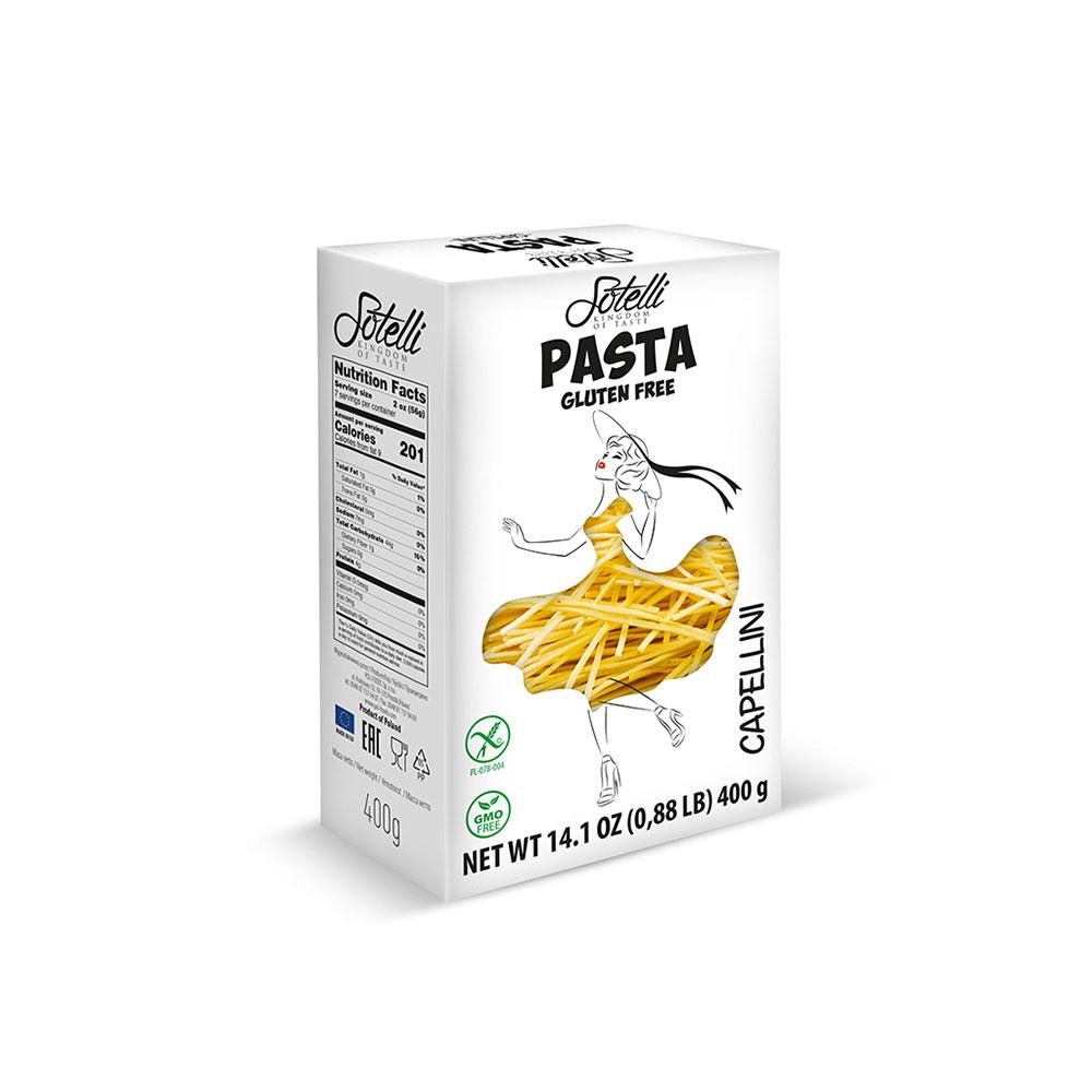 SOTELLI Capellini bezlepkové těstoviny 400 g