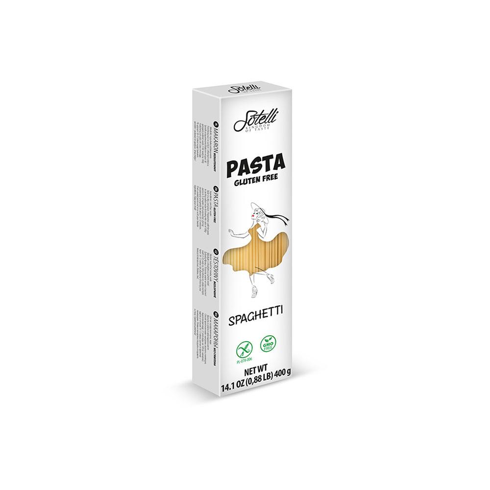 SOTELLI Spaghetti bezlepkové těstoviny 400 g