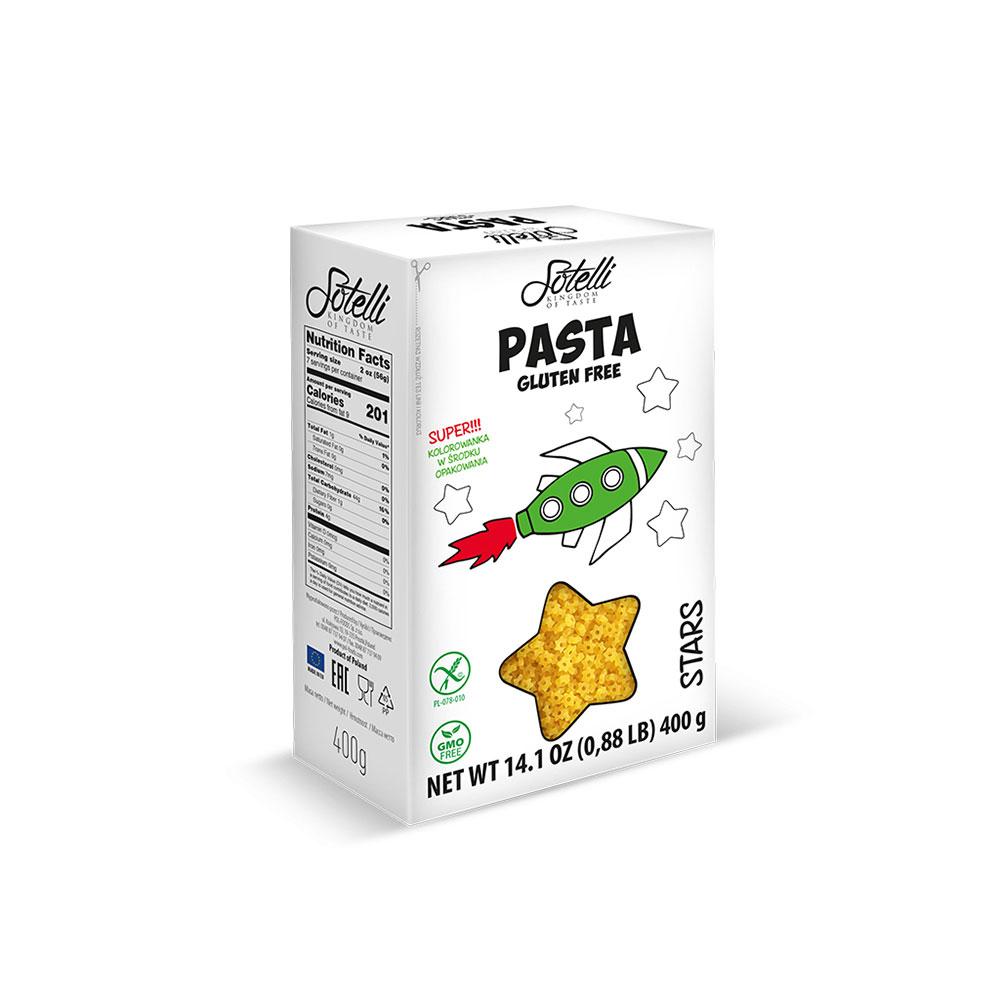 SOTELLI Stars bezlepkové těstoviny 400 g