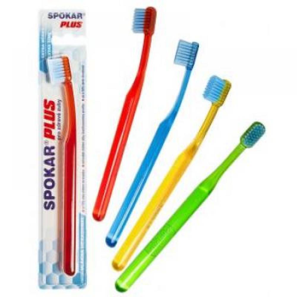SPOKAR Zubní kartáček Plus extra měkký