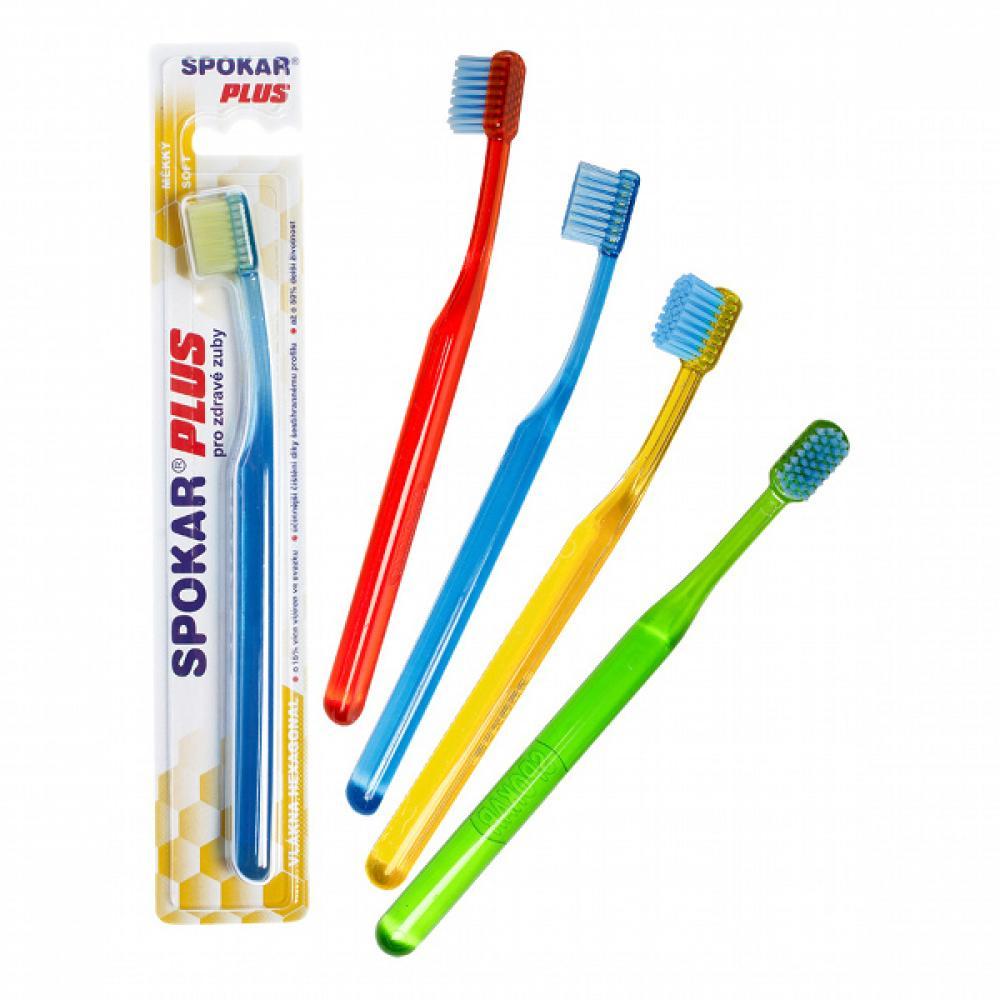 SPOKAR Plus zubní kartáček 3428 měkký