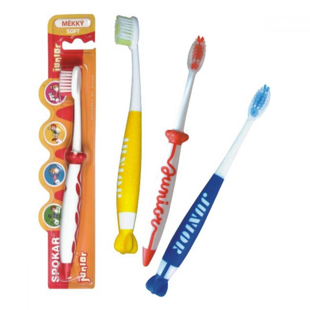 Spokar zubní kartáček Junior 3433 měkký