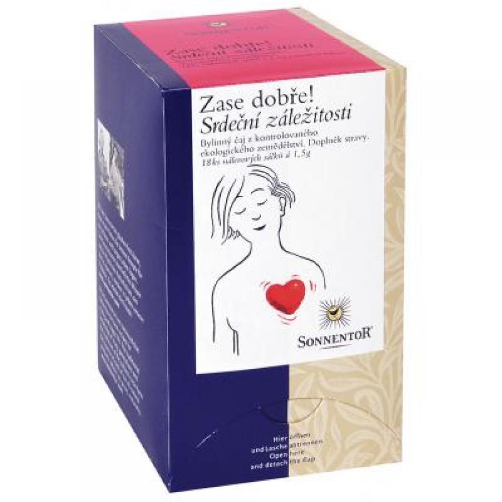 Srdeční záležitosti - bio bylinný porc.čaj dvoukomorový 27g