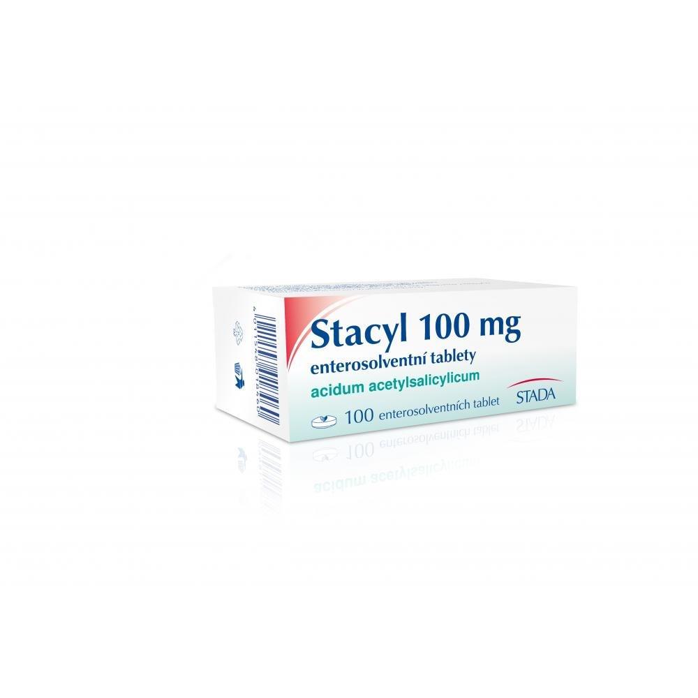 STACYL 100 mg ENTEROSOLVENTNÍ TABLETY 100x 100 mg Tablety