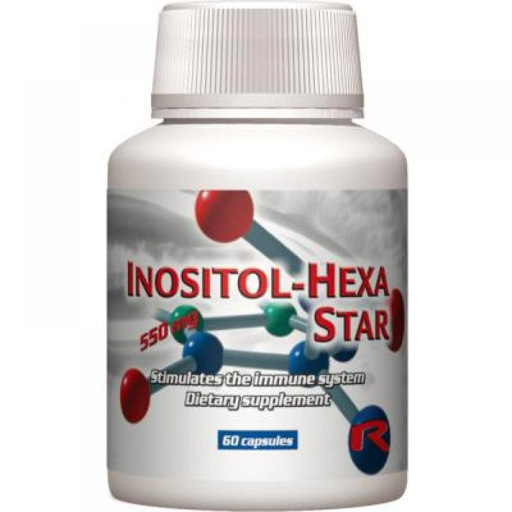 STARLIFE Inositol-hexa Star 60 kapslí