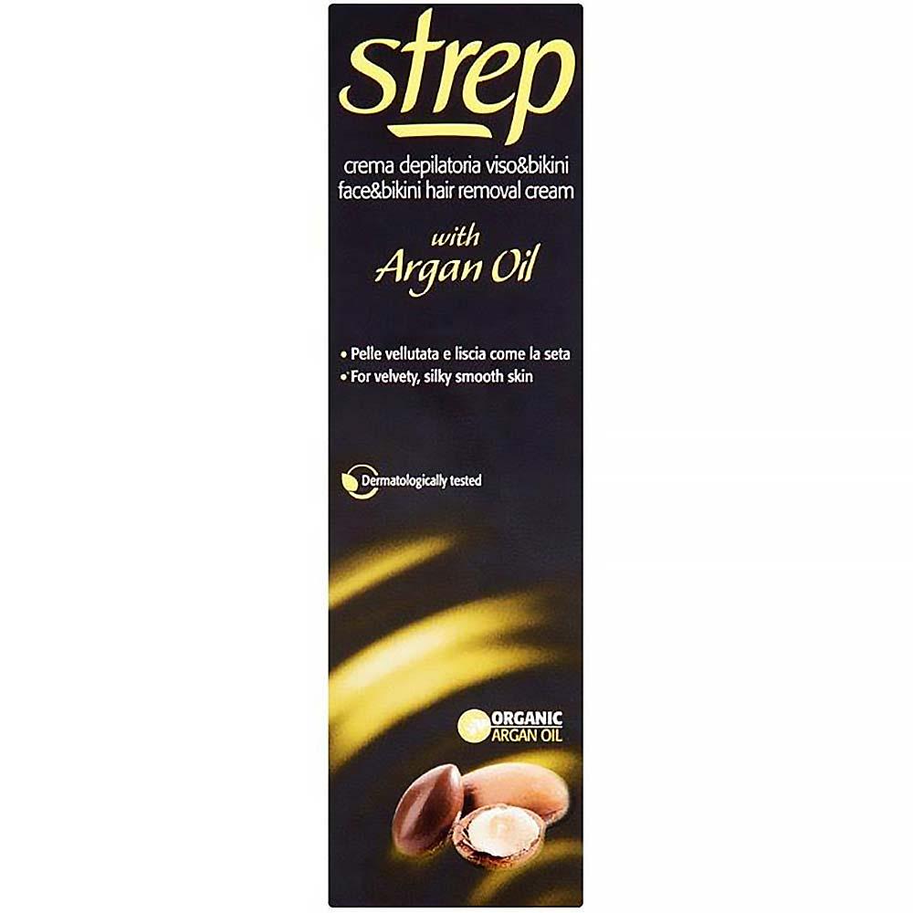 Strep depilační krém s arganovým olejem 50 ml