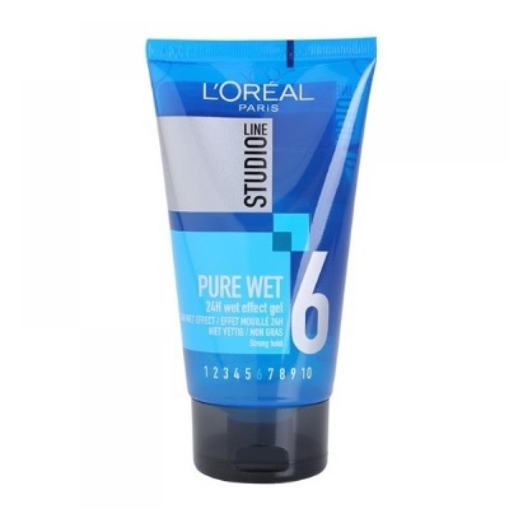L'ORÉAL Studio Line Pure Wet gel na vlasy s mokrým efektem 150 ml