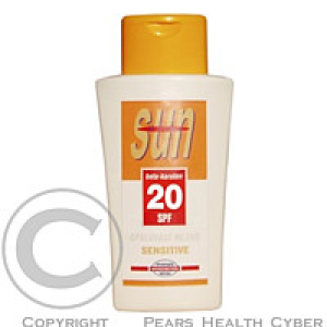 SUN VITAL opal.mléko OF20 250ml