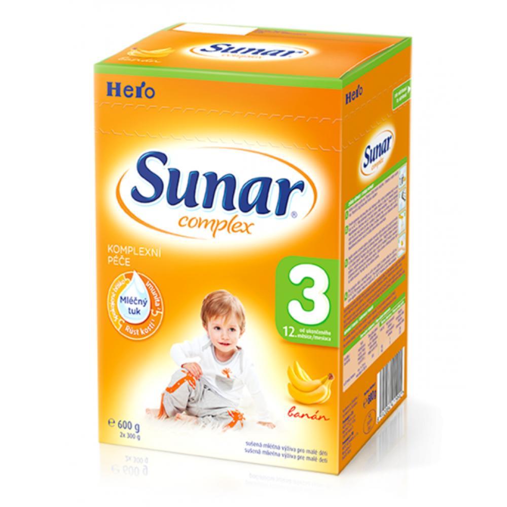 SUNAR complex 3 banán 600 g