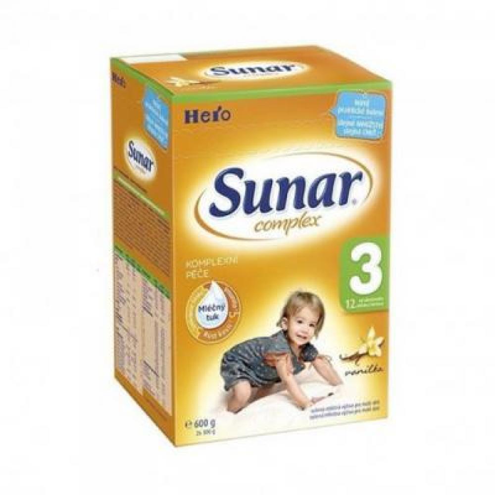 SUNAR complex 3 vanilka nové balení 600 g