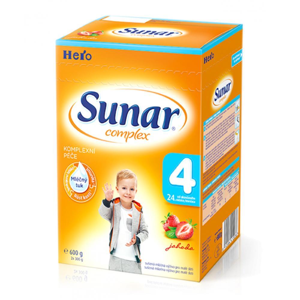 SUNAR complex 4 jahoda 600 g