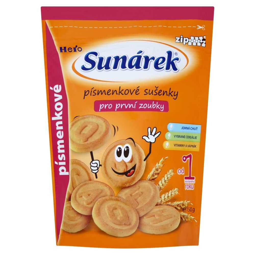 Sunarka dětské sušenky písmenkové 150 g